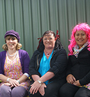 The Kidsfirst Wigram team dressed up for Balloon Day.